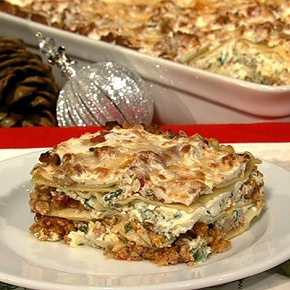Michael Symon's Mom's Lasagna from The Chew. Love that show and this sounds delicious!
