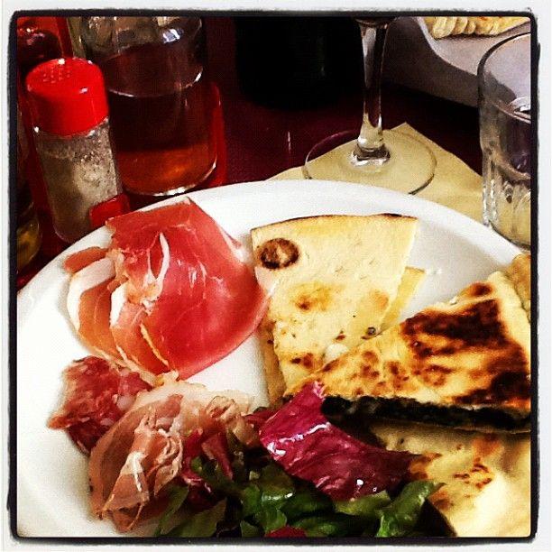 Eating piadina in Rimini - Instagram by @Kathryn Whiteside Burrington