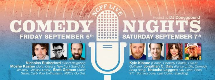 2013 Live Comedy Nights September 6th & 7th