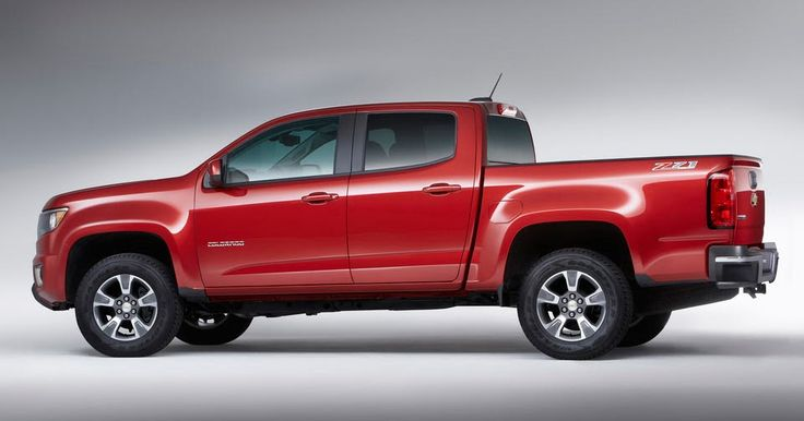 Updated 2017 Chevrolet Colorado Receives All-New 308HP V6 & 8-Speed Auto #Chevrolet #Chevrolet_Colorado
