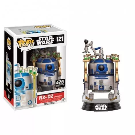 Bobble Head POP Star Wars Jabba's Palace R2-D2 (Exclusive)