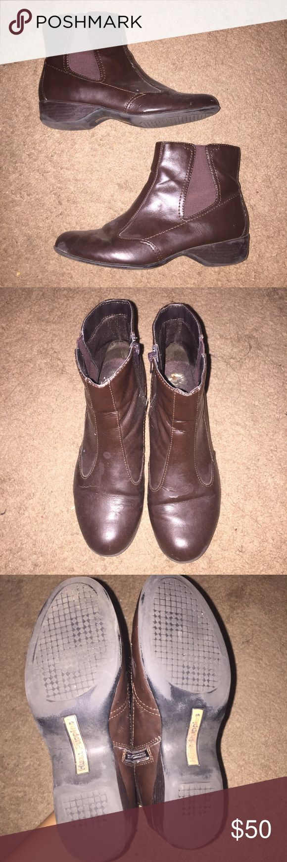 Hush Puppies Ankle Boots Rarely worn. In great condition. Hush Puppies Shoes Ankle Boots & Booties