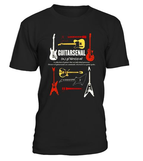 """# Guitarsenal - Guitar Shirt - Music T Shirts .  Special Offer, not available in shops      Comes in a variety of styles and colours      Buy yours now before it is too late!      Secured payment via Visa / Mastercard / Amex / PayPal      How to place an order            Choose the model from the drop-down menu      Click on """"Buy it now""""      Choose the size and the quantity      Add your delivery address and bank details      And that's it!      Tags: A collection of guitars that an…"""