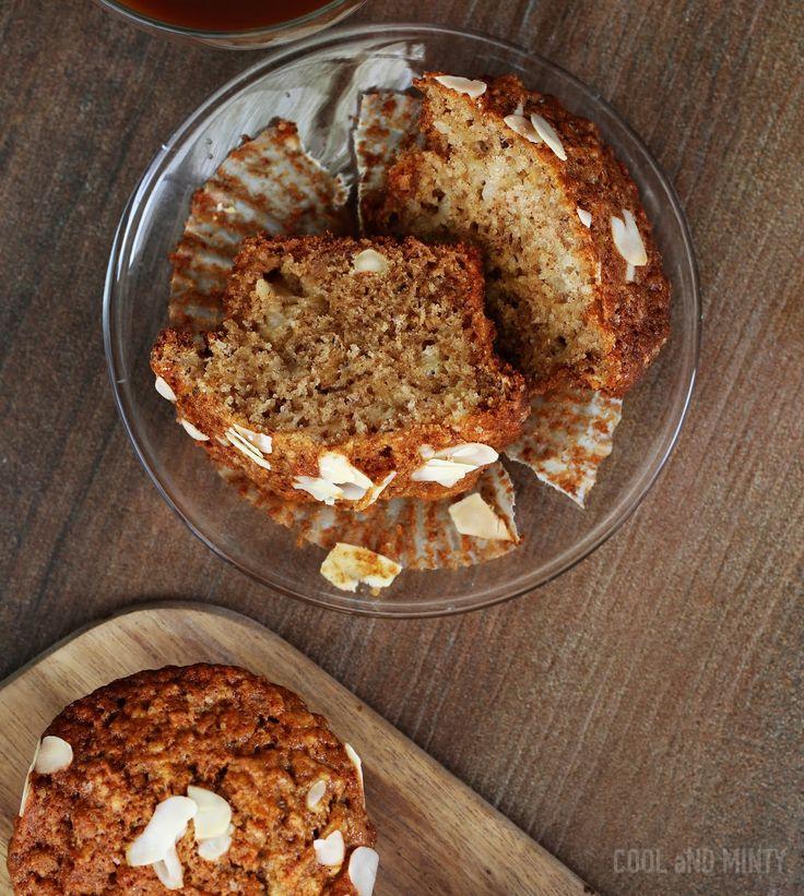 Szybkie do zrobienia muffinki z jabłkami, migdałami i cynamonem. Idealnie zbalansowane pod względem smaku. O lekkiej i jednocześnie wilgo...