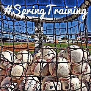 #springtraining Can't wait - Will be in AZ in a few weeks
