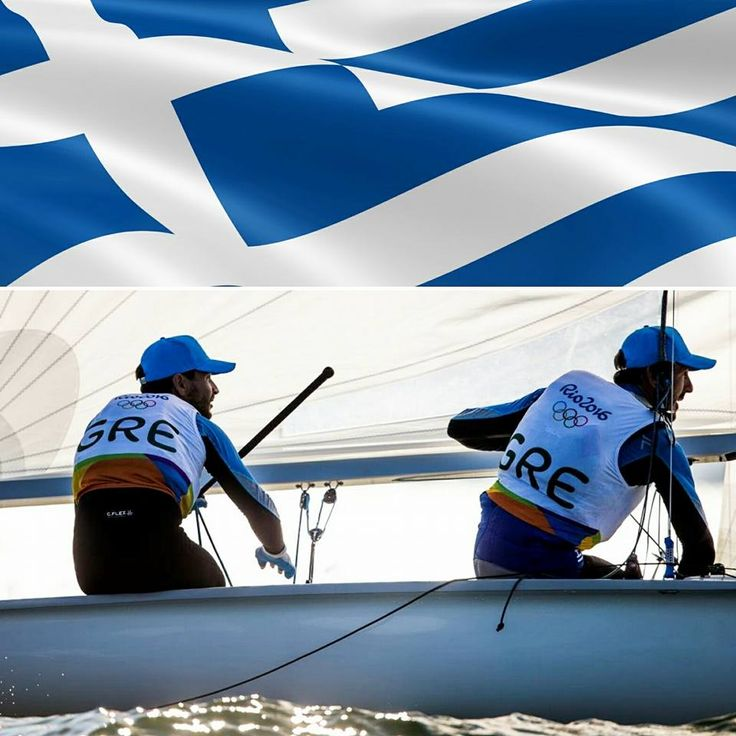 #‎mantiskagialis‬, the best ‪#‎Greek‬ sailing duo in the men's 470 sailing class αfter years of training, grit and determination, dedication, sheer hard work and huge sacrifies in ‪#‎470Class‬ ‪#‎worldsailing‬ rewarded their accuracy and perfect execution with ‪#‎bronzemedal‬ in ‪#‎Rio2016‬.  Well done guys! Time to celebrate, isn't it? :) Your boat, total meaning for a long time can wait. Let the ‪#‎Olympian‬ moment be your focus, worthy award of a lifetime!  ΕΥΧΑΡΙΣΤΟΥΜΕ Mantis-Kagialis!!