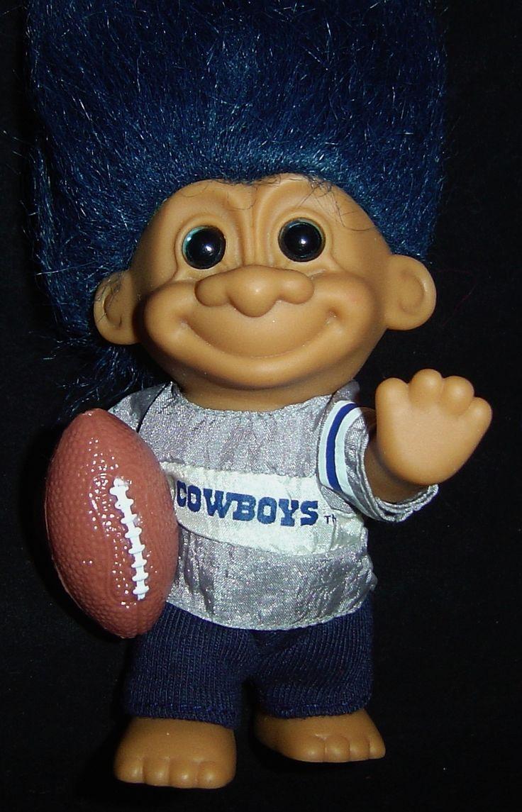 troll dolls | Cowboys Football 5″ Russ Troll Doll NEW | Addicted to Trolls