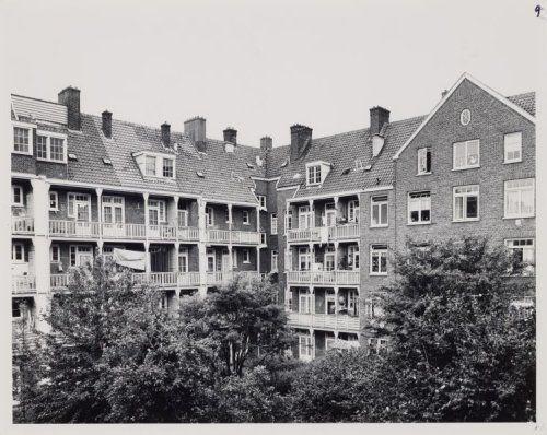 Binnentuin Retiefstraat in Amsterdam-Oost