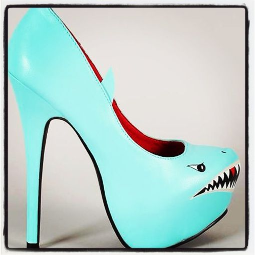 Shark weekWeeks Fav, Hoyong Mak, Sharks Bait, Sharks Weeks, Sharks Pump, Pump Shoes, Weeks Parties, Shark Week, Bait Ooohaha