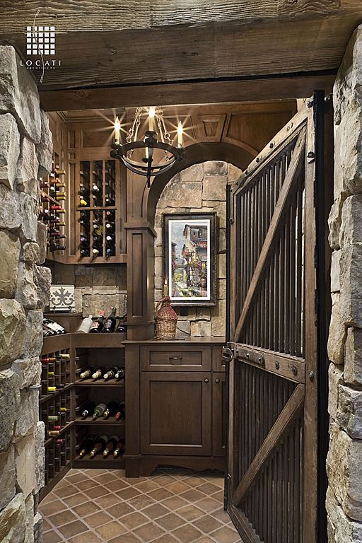 Rustic wine cellar find more amazing designs on zillow for Wine cellar pinterest