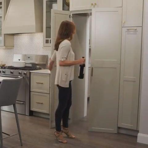 Functional modern pantry