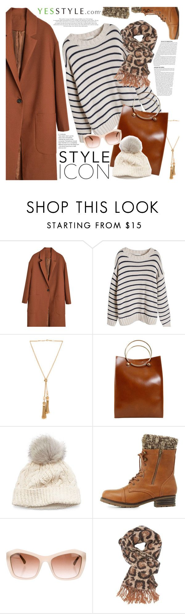 """My kind of style"" by vanjazivadinovic ❤ liked on Polyvore featuring Chloé, SIJJL, Charlotte Russe, Chanel, Fall and yesstyle"