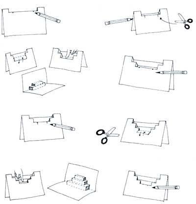 413 best Arquitectura en papel_Pop up images on Pinterest
