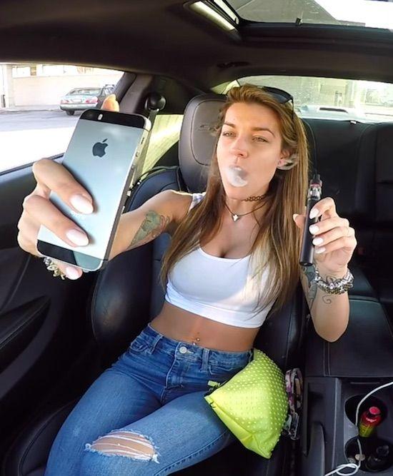 Dating a girl who smokes