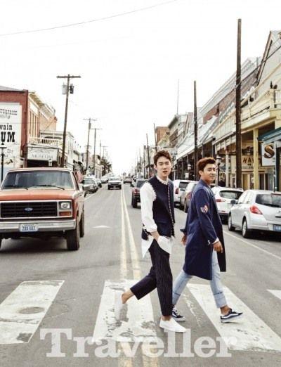 Yoo Yeon-seok and Son Ho-joon traveled to U.S. | Koogle TV