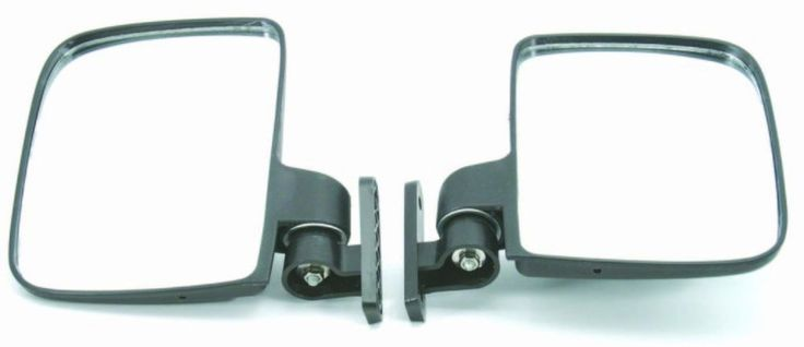 Golf Cart Side View Mirrors Universal For Club Car EZ-GO Yamaha and Others Set  #GOLFCARTSUNIVERSE