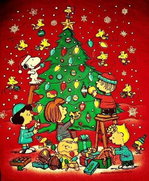 .A Peanuts Christmas. Back to a time of innocence.