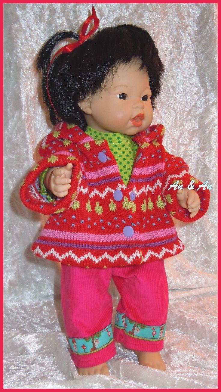 Vrolijke kleertjes voor little babyborn  dollclothes
