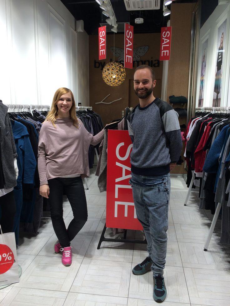 Paulina i Paweł - czyli nasza ekipa z Blue City;)
