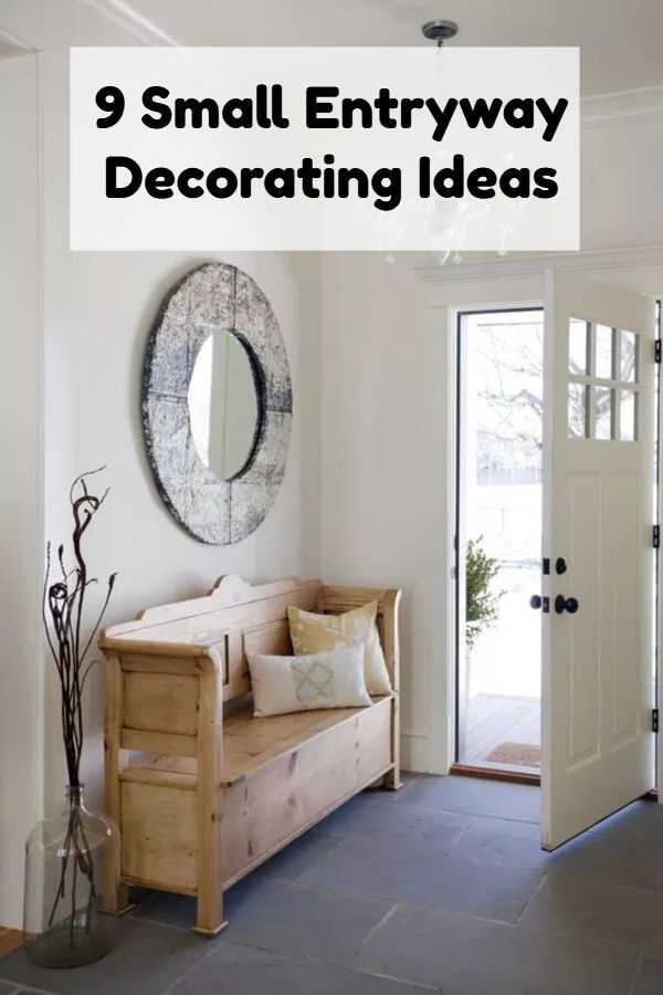 How To Create An Entry Way In A Small Space | Entry way ...