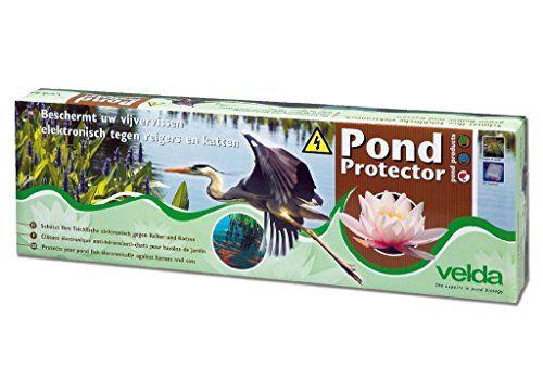 Velda, clôture électrique anti-hérons/anti-chats pour bassin d'agrément, Pond Protector, 128020