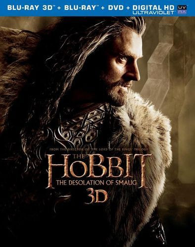The Hobbit: The Desolation of Smaug [Includes Digital Copy] [UltraViolet] [3D] [Blu-ray/DVD] [Blu-ray/Blu-ray 3D/DVD] [2013]