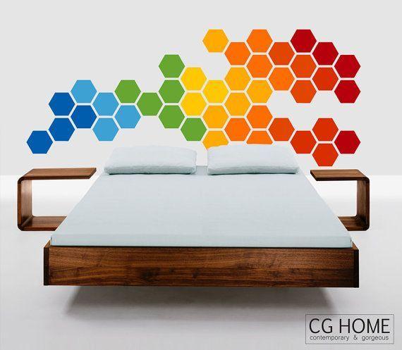 Best 25 Rainbow Wall Decal Ideas On Pinterest Girls Room Paint