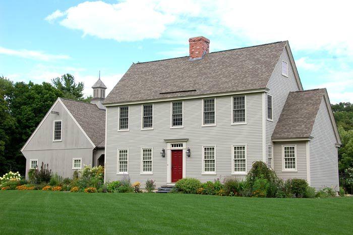Modern take on the New England Saltbox