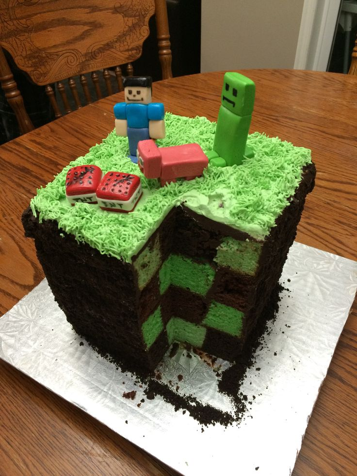 Best 25+ Easy minecraft cake ideas on Pinterest   Recipe ...