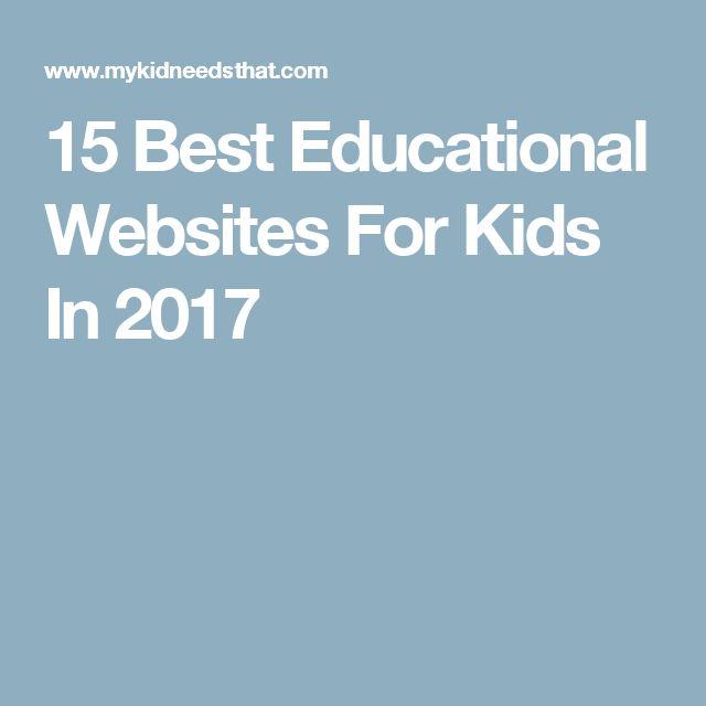 15 Best Educational Websites For Kids In 2017