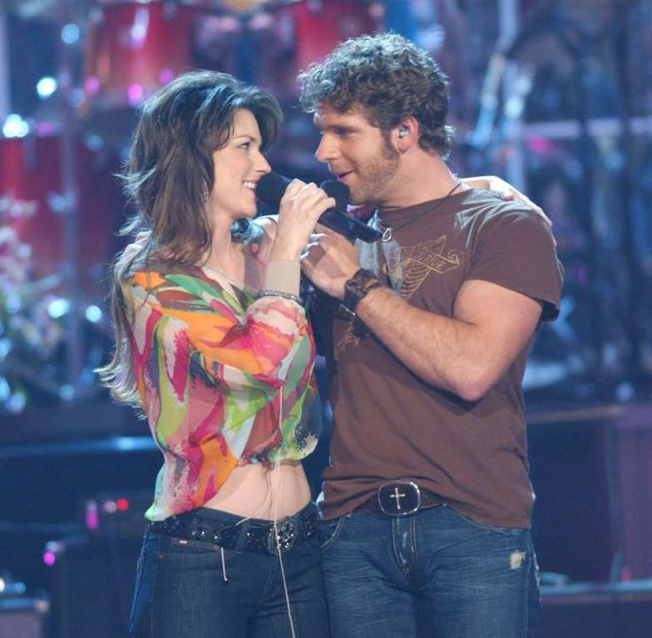 """In 2004, Shania Twain released her Greatest Hits album. This included a duet with American country singer Billy Currington titled """"Party For Two."""""""