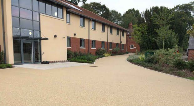 Wrekin House Accommodation complex at Concord College, Shrewsbury chose Addaset in a 6mm Maple Gold to complement the building and the beautiful rural setting.  Despite delays due to the inclement weather, the durable and low maintenance surface was installed in time for the students' occupation in September 2014.