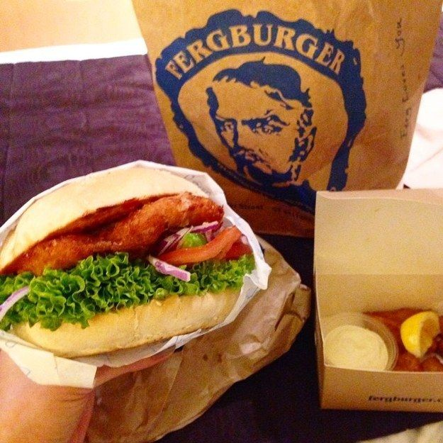 "Ever had Ferg Burger? It's known as the ""best burger in the world."" Enjoy those 90 minute waits though, they are DEFINITELY worth it! 