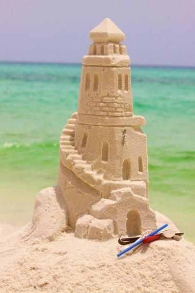 SandCastle Lessons with Beach Sand Sculptures