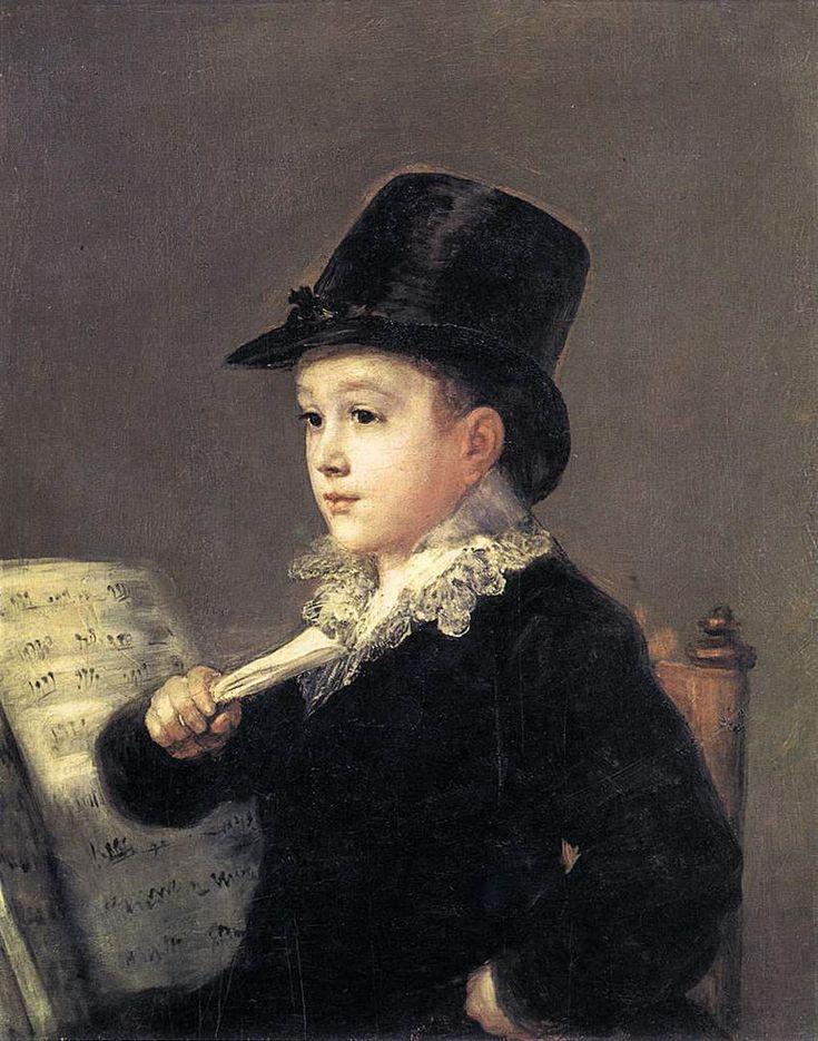 Retrato de Mariano Goya - Francisco de Goya - Wikimedia Commons