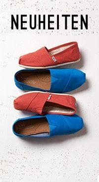 Shoppen Sie TOMS Slipper für Damen mit Classics, Espadrilles, Biminis und Nautical Bimini Bootsschuhen. Für jedes gekaufte Paar spendet TOMS Schuhe für ein bedürftiges Kind. One for One.