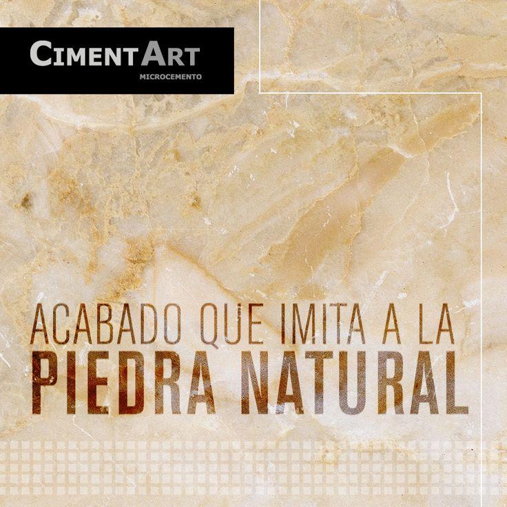 CimentArt Stone es usado para conseguir un acabado decorativo fino, de aproximadamente 2-3 mm sobre cualquier superficie: Pladur, yeso, cemento, azulejo, mármol, porcelánico, etc. #CimentArtStone