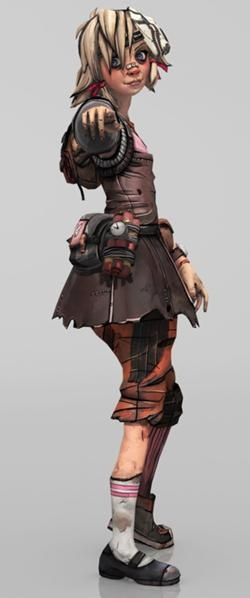 Tiny Tina, Borderlands 2. Probably one of the most awesome characters in a game ever