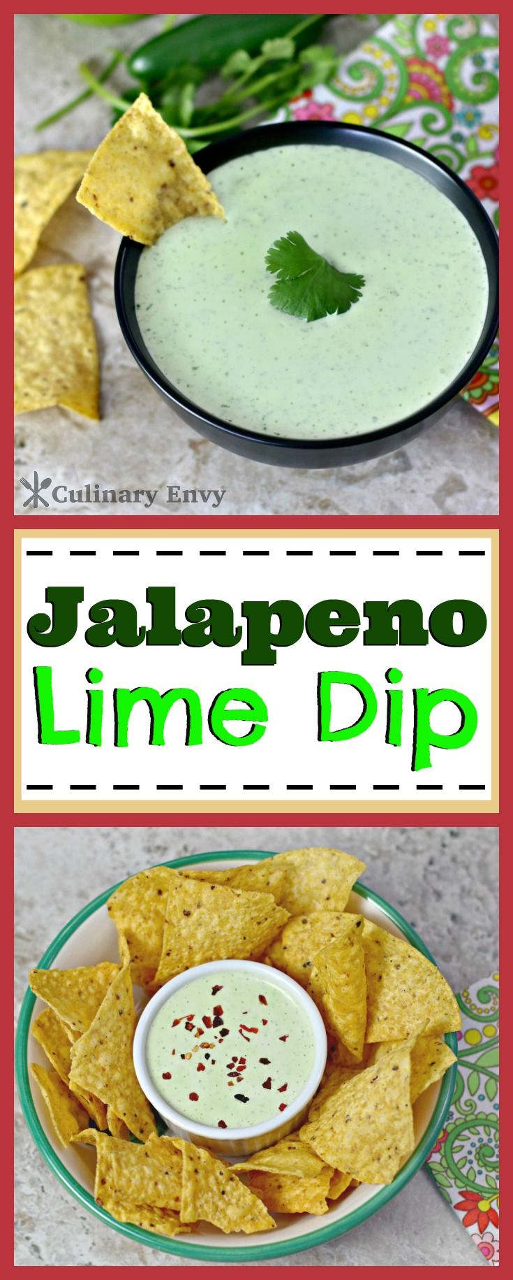 This Jalapeno Lime Dip is my MOST requested dip recipe!  It is always the HIT of the Party!  Takes 5 minutes to make and uses fresh simple ingredients!  Click to read more!