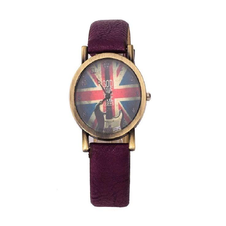 Women Wristwatch Fashion Style Vintage Watch Unisex Women Demic Fabric Leather Wristwatch Relojes (Black) - Intl | Lazada PH