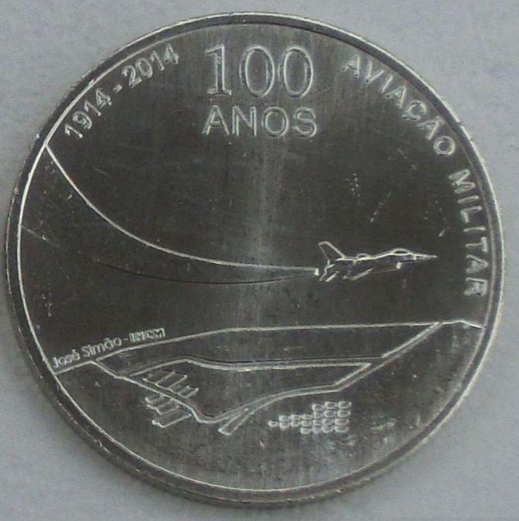 2,5 Euro Portugal 2014  Militärische Luftfahrt  unz.UNC