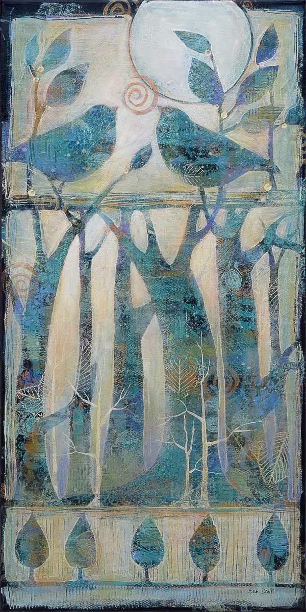 Acrylic painting by Sue Davis,Fort Wayne,Indiana