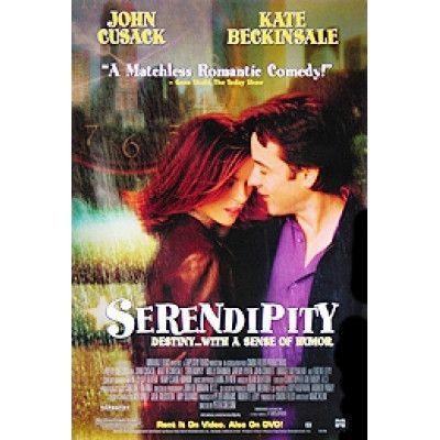 Serendipity Movie Poster 27x40 Used Lucy Gordon, Clark Middleton, Mike Benitez, John Cusack, Bridget Moynahan, Aron Tager, Victor A Young, Kevin Kean Murphy, John Corbett, Ann Talman, James Goodwin