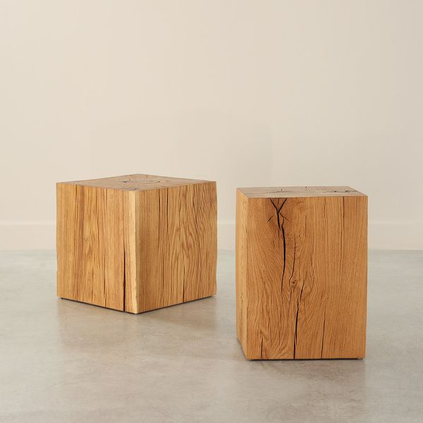 Putnam Oak Cube Table With Images