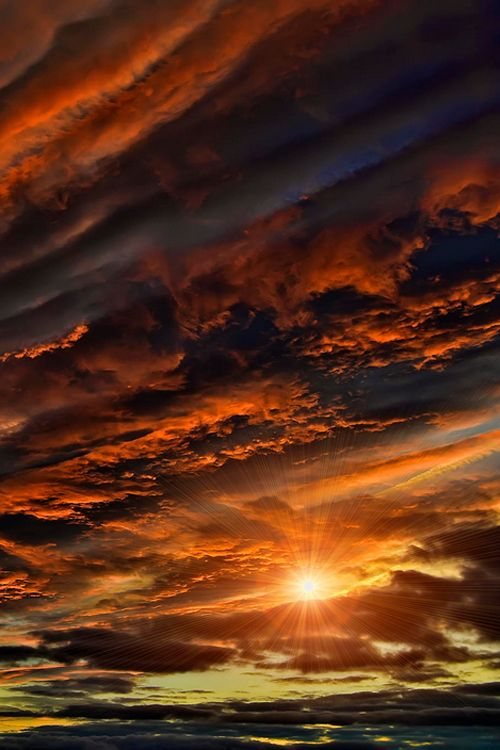Fire in the sky by Yara GB