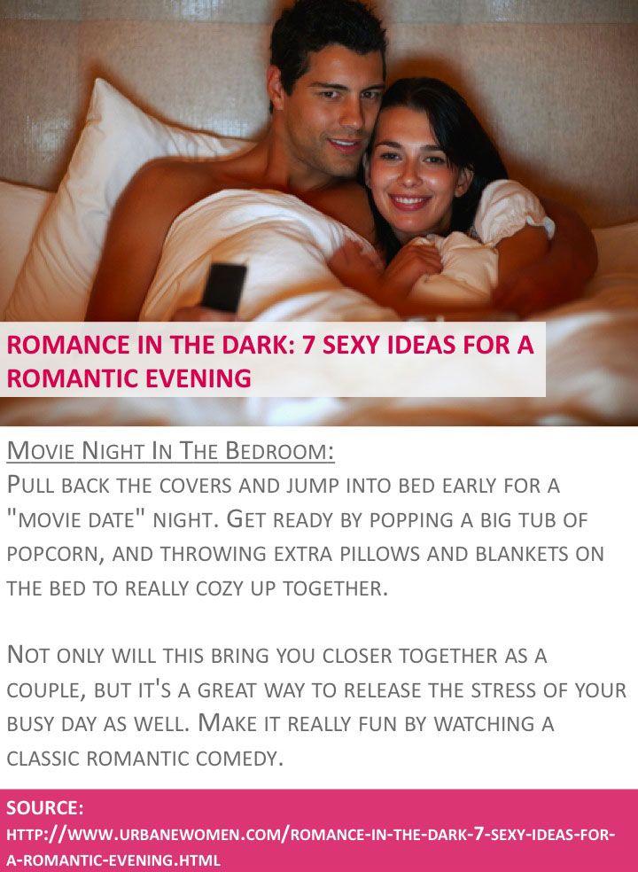 Romance In The Dark: 7 Sexy Ideas For A Romantic Evening   Movie Night In  The Bedroom   Source: Http://www.urbanewomen.com/romance In The Dark 7 Seu2026