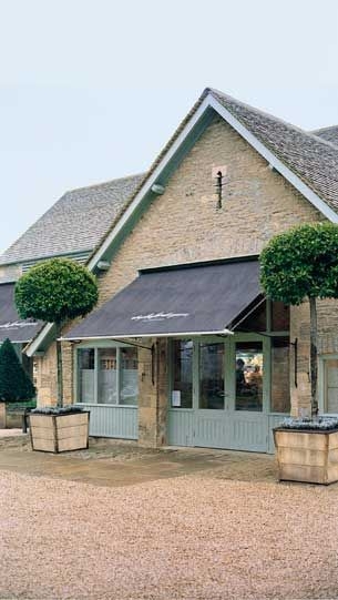 Daylesford - London and Gloucestershire (category: organic eating out)
