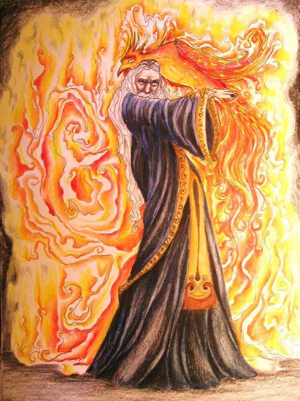 The Headmaster Colored By Jenimal Deviantart Com On Deviantart Harry Potter Artwork Harry Potter Fan Art Harry Potter Art