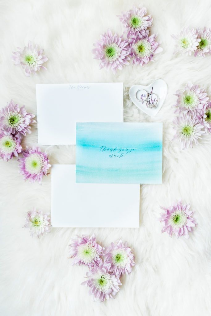 Custom Wedding Thank You Notes with Mixbook Etiquette and Note