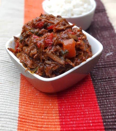 #recepten #winterkost Stoofpotje met rundvlees, paprika en chorizo